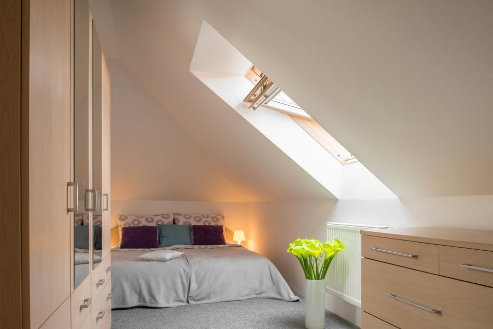 ložnice byt po úpravě