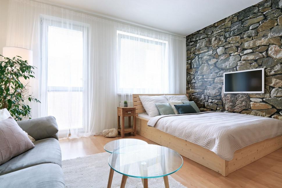 ložnice byt 1kk k pronájmu pardubice