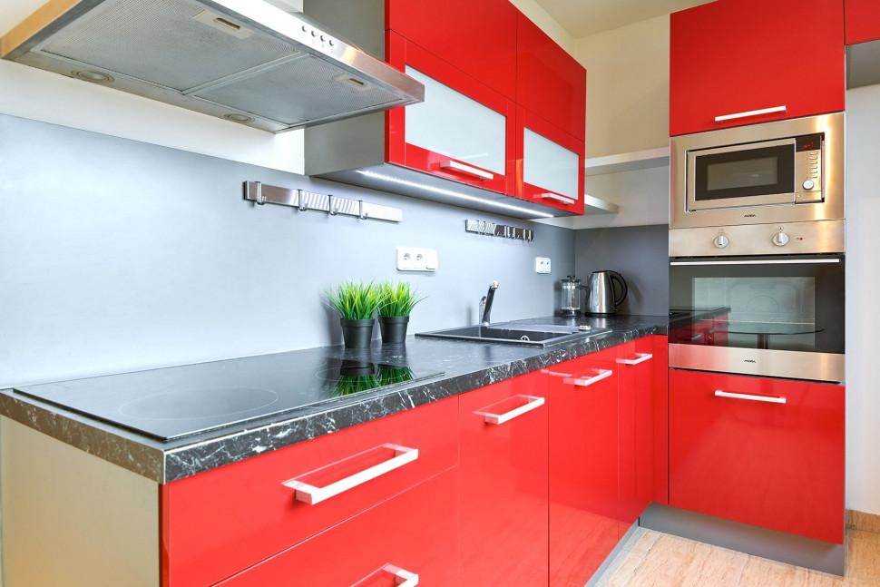 moderní kuchyň byt 2+1 pronájem pardubice